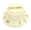 Fender stratocaster s-1 volume knob and switch cap aged white