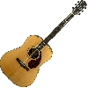 Fender pm-1 deluxe dreadnought, natural