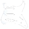 Fender stratocaster 1-ply pick guard