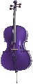 Stentor Cello 1/2 HARLEQUIN Deep Purple