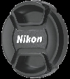 Nikon lc-58 58mm snap-on front lens cap ( )