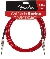Fender california instrument cable 3m candy apple red